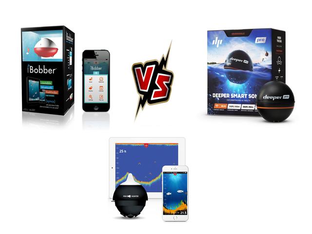 iBobber versus Deeper Pro versus Fish Hunter Pro Review